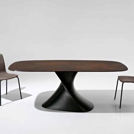 Moderne designbord i glaskeramisk fremstillet i Italien, Clark
