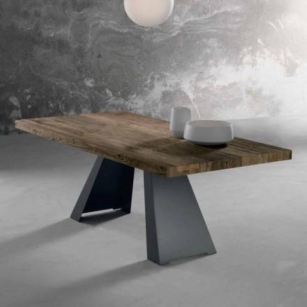 Massivt træ design bord lavet i Italien Zerba