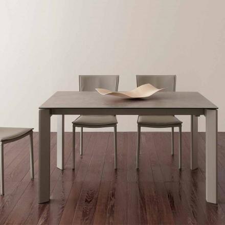 Terni udvideligt glaskeramisk bord op til 240 cm