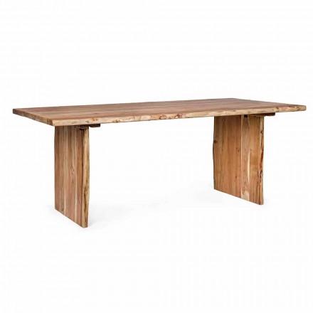 Homemotion Modern Acacia Wood spisebord - Pinco