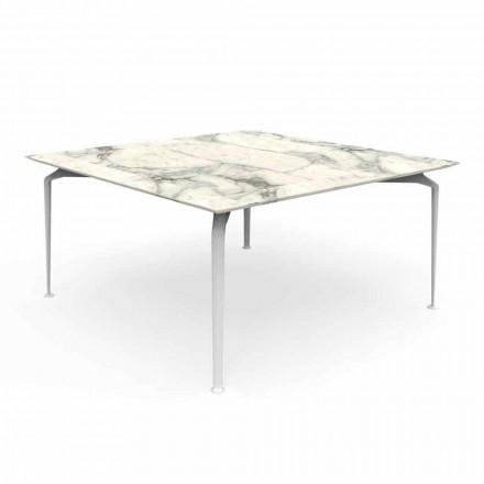 Moderne design udendørs bordgres og aluminium - Cruise Alu Talenti
