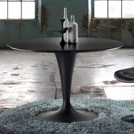 Moderne design rundt udtrækkeligt bord - Borgia