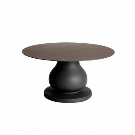 Klassisk design rundt bord i HPL, diameter 140 cm - 1800-tallet