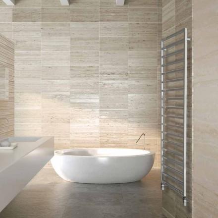 Termoarredo hydraulisk designer badeværelse, krom, Vinter Scirocco H