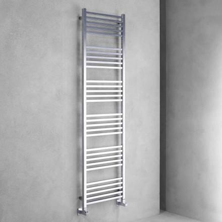 Modern Design Chrome Radiator Wall 2 Størrelser op til 765 Watt - Tower