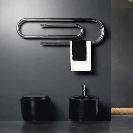 Termoarredo elektrisk hæftning design med krom finish Scirocco H