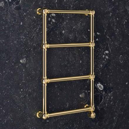 Elektrisk modulær radiator i krom eller guld messing ved 200 W - Caesar