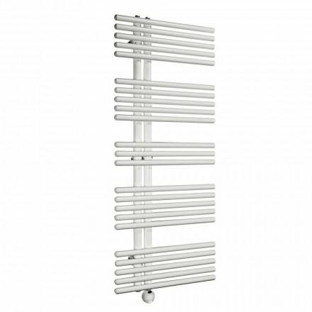 Moderne design væg elektrisk badeværelsesradiator op til 700 W - påfugl
