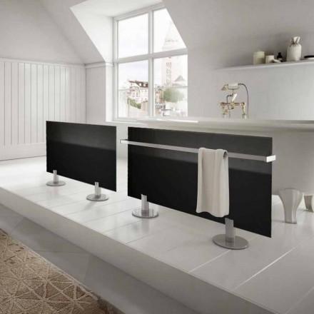 El-radiatorer fra moderne design gulv i sort glas stjerne