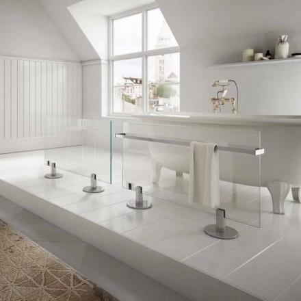 Stjerne Termoarredo designer elektrisk gulv gennemsigtigt glas