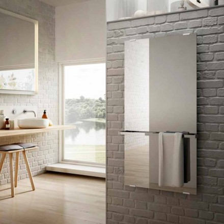 elektriske glas radiatorer til Star spejl design, lavet i Italien
