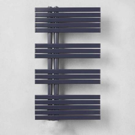 Vægmonteret elektrisk radiator til badeværelse 400 W - påfugl