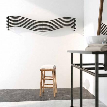 Termoarredo Hydraulisk moderne design i Wave af Scirocco H stål