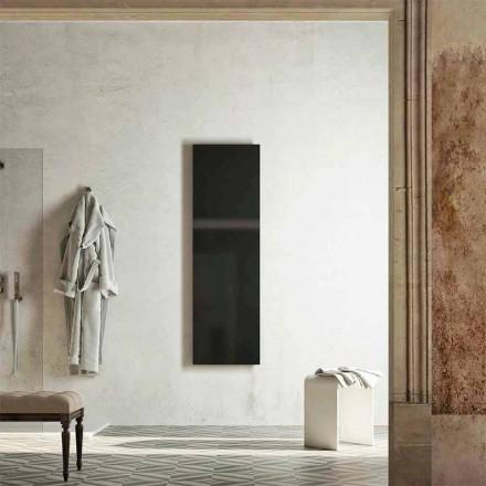 Moderne design opvarmet håndklædeskinne, produceret i Italien af Fidenza