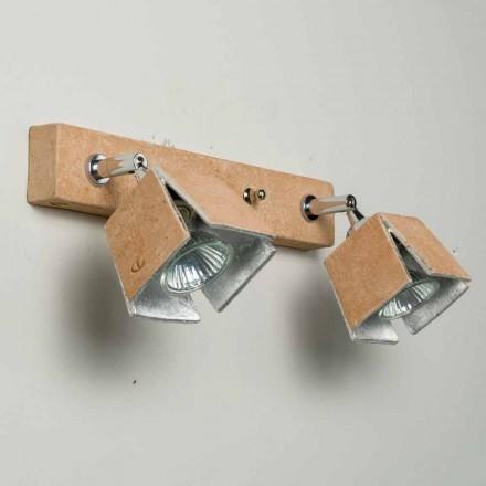 TOSCOT reglette Plade 2 retningsbestemte lys lavet i Toscana