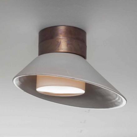 TOSCOT Chapeau! Lampe væg / loft lavet i Toscana