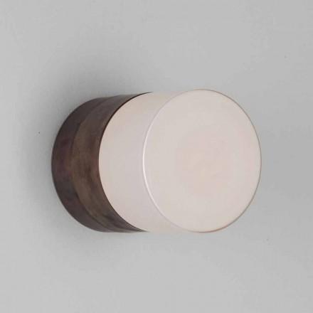Toscot Chapeau! Håndlavet væg / loft lampe lavet i Toscana