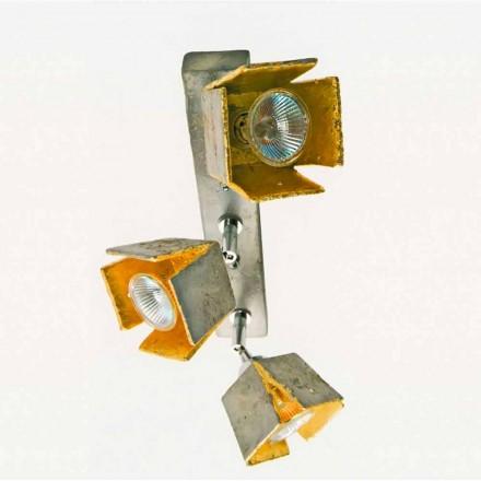 TOSCOT plade reglette 3 retningsbestemte lys lavet i Toscana