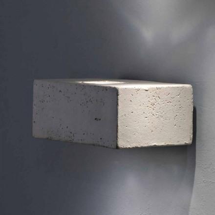 TOSCOT Smith applique LED Udvendig terrakotta, lavet i Toscana