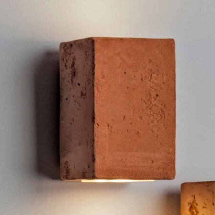 TOSCOT Smith forsænket ydre LED terrakotta, håndlavede