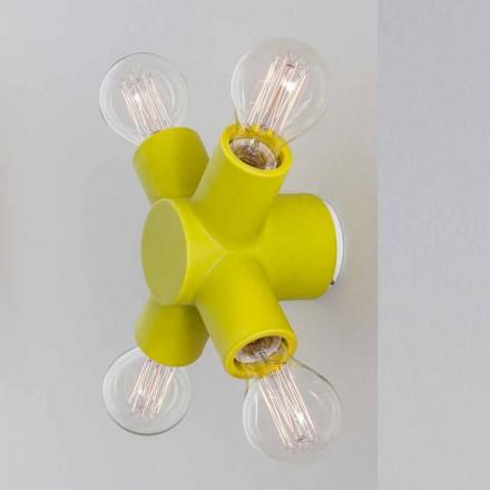 TOSCOT Traffic keramiske væg lampe fremstillet i Toscana