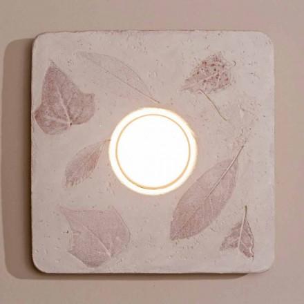 Toscot Vivaldi terracotta væglampe lavet i Italien