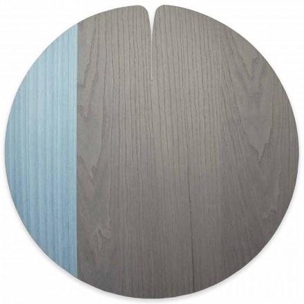 Moderne amerikansk stil ægte træplade fremstillet i Italien, 4 stykker - Stan
