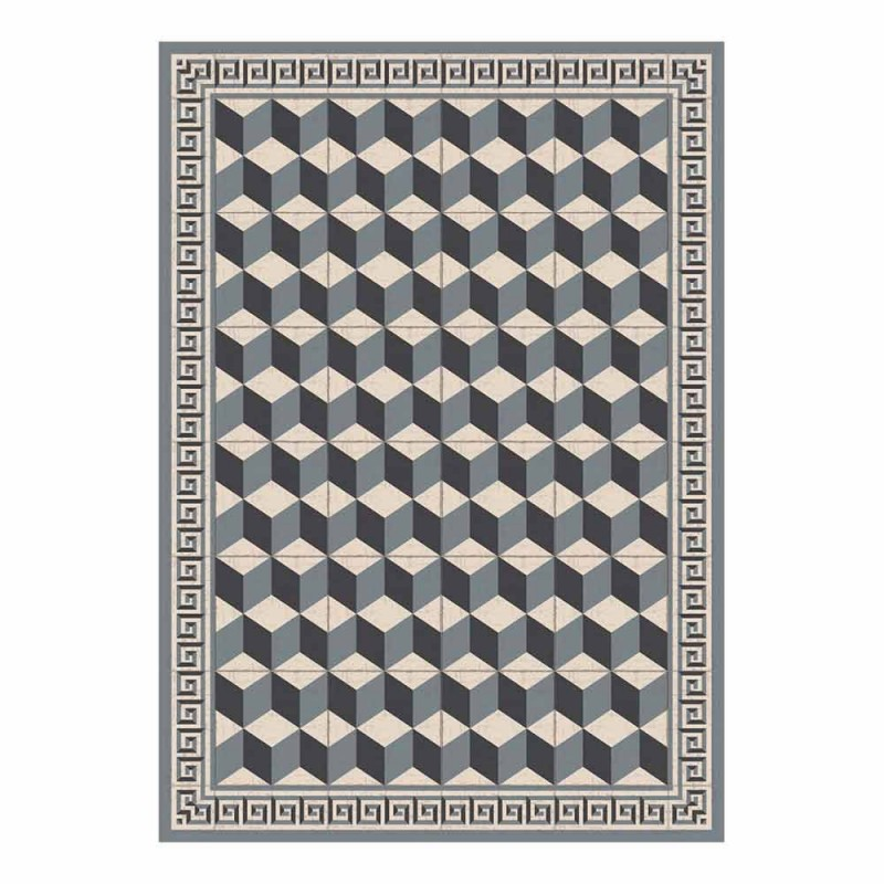 Amerikansk designplacemat i PVC og polyester, 6 stykker - Romio