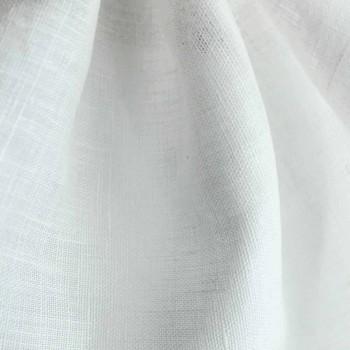 Amerikansk placemat i ren hvid eller naturlig linned lavet i Italien - Chiana