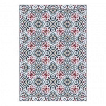 Vaskbart amerikansk placemat i Pvc og polyester design, 6 stykker - Meriva