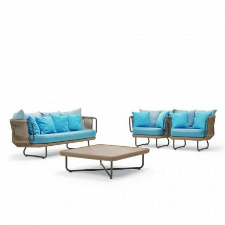 Varaschin Babylon have lounge, sofa, 2 lænestole og 1 sofabord
