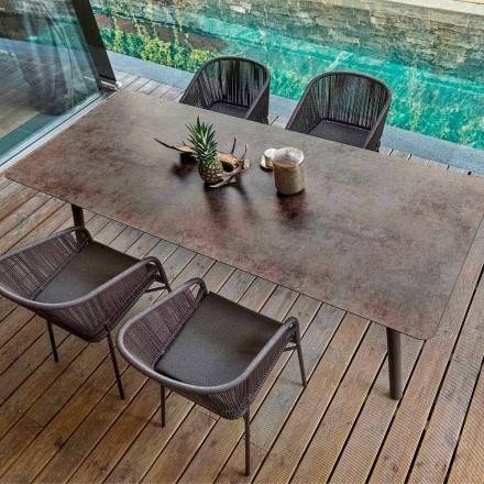 Varaschin Link Fast spisebord fra eksterne eller interne H 65 cm
