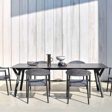 Varaschin Link Fast spisebord haven eller indendørs H 75 cm