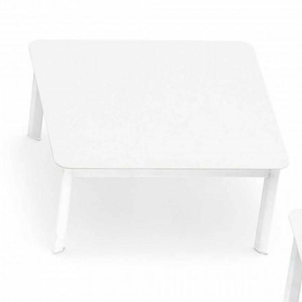 Varaschin System design udendørs sofabord i malet aluminium