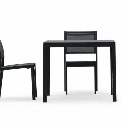 Varaschin Victor bord til indendørs og haven spisning, moderne design
