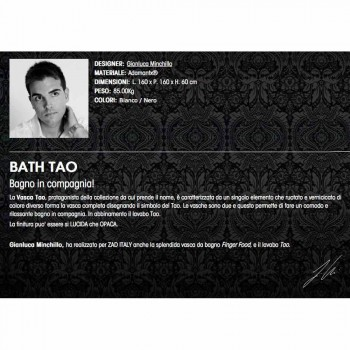 Badkar iAdamantx® Bath Tao Lavet i Italien