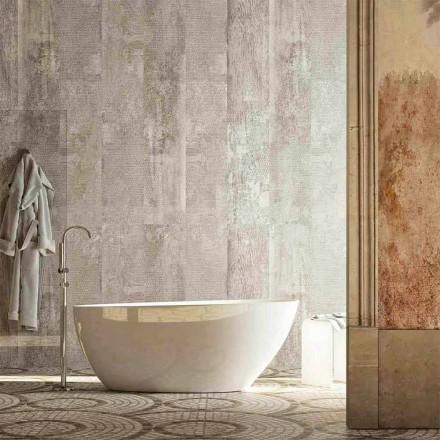 Oval fritstående badekar i moderne design produceret i Italien Albenga