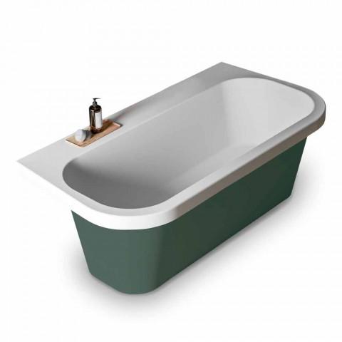 Glans / Uigennemsigtig To-Tone Badekar, Fritstående Moderne - Margex