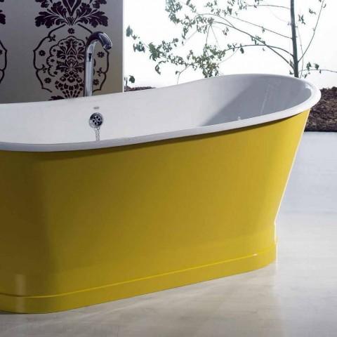 Badekar fritstående farvet jern moderne design Betty