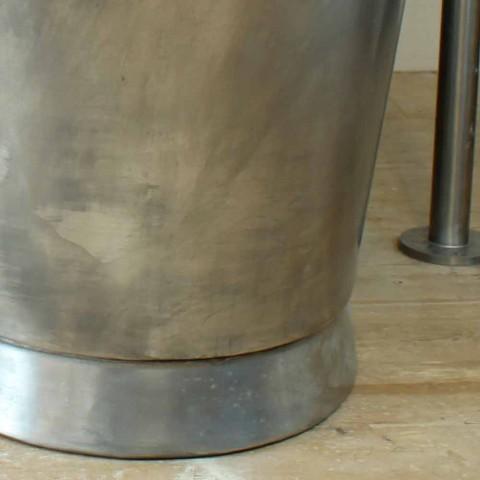 Badekar fritstående kobber bad færdig i nikkel Julia