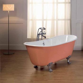 badekar i støbejern med Melissa fødder