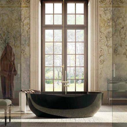 Moderne design, genoptaget badekar Fabriano, fremstillet 100% i Italien