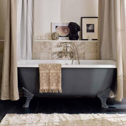 Vintage fritstående badekar med fødder i støbejern - Nausica