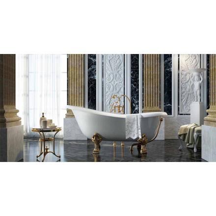Fritstående badekar i klassisk design lavet 100% i Italien, Fregona