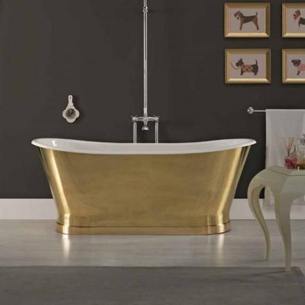 design støbejern badekar med ydre dæksel Roy Messing
