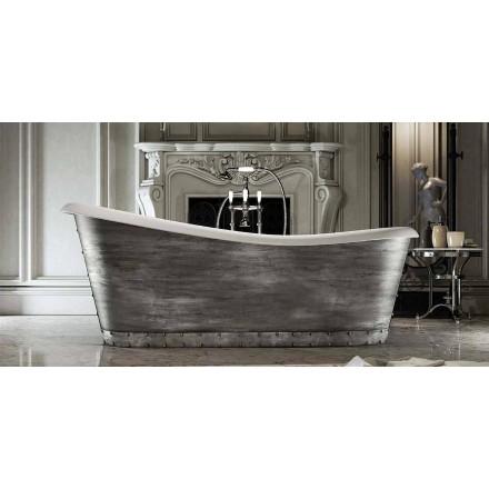 Fritstående harpiksbad i moderne design fremstillet i Italien, Furtei