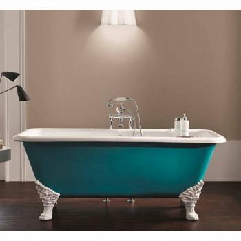 Bath design fritstående støbejern med dekorerede fødder Wanda