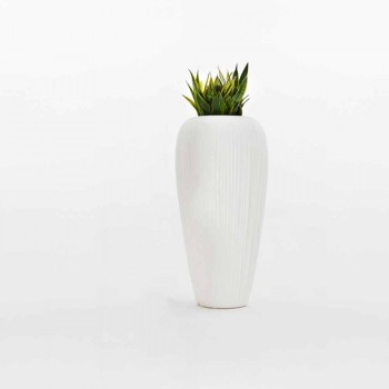 2 stykker hvid, beige eller antracit polyethylenvase - hud fra Myyour