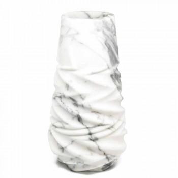 Arabesque marmor design dekorativ vase lavet i Italien - Brock