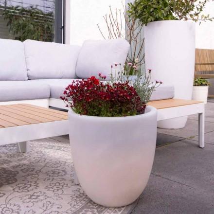 Design Belyst ekstern og intern vase i farvet polyethylen - Svasostar